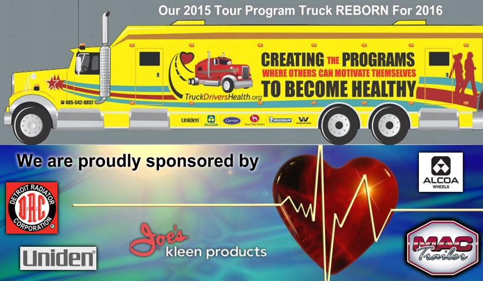 "Amazing Story! Proud Sponsor of ""TruckDriversHealth.org"""